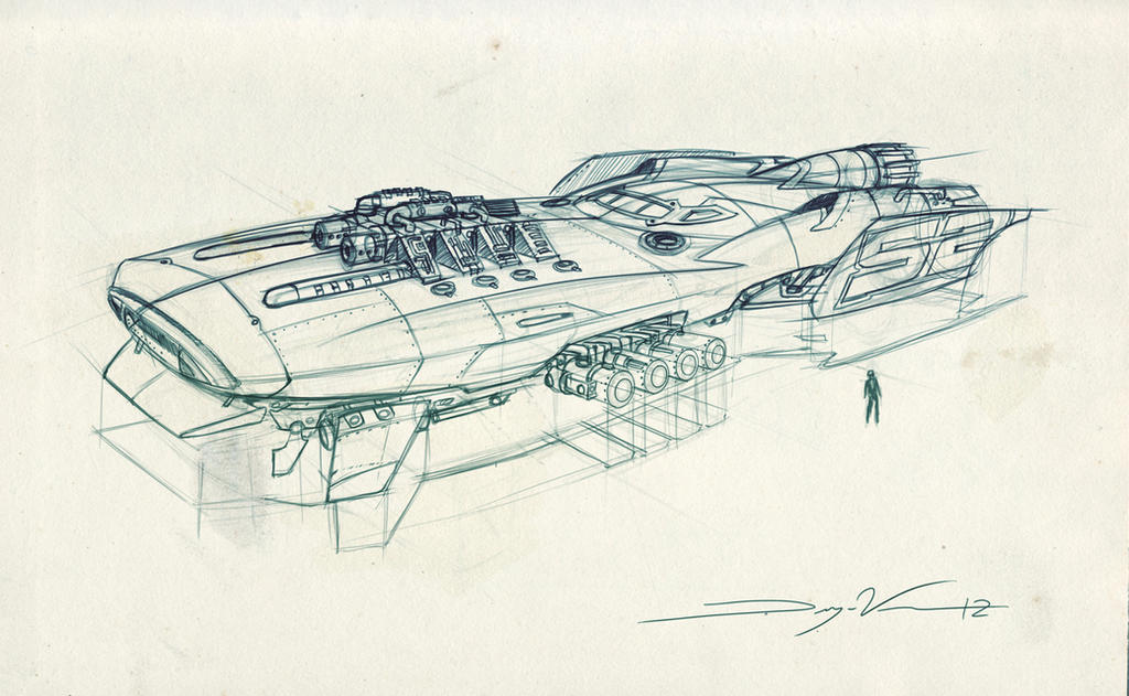 how to draw a spaceship in photoshop