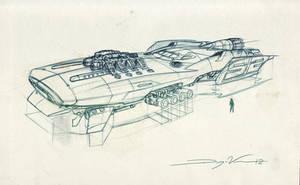 RaceShip by FutureElements