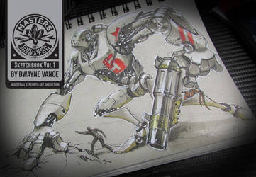 BountyBot2Sketch by FutureElements