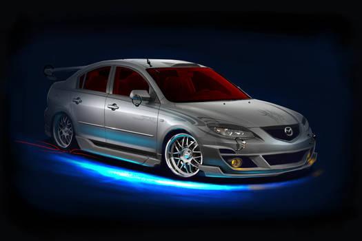 Mazda3 showcar