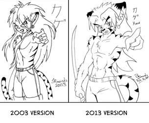 2003 to 2013 Comparison by Kelmar
