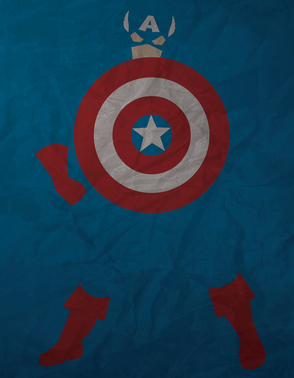 The Captain Minimalism by AtomicKittenStudios