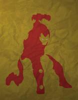 Iron Man minimalism by AtomicKittenStudios
