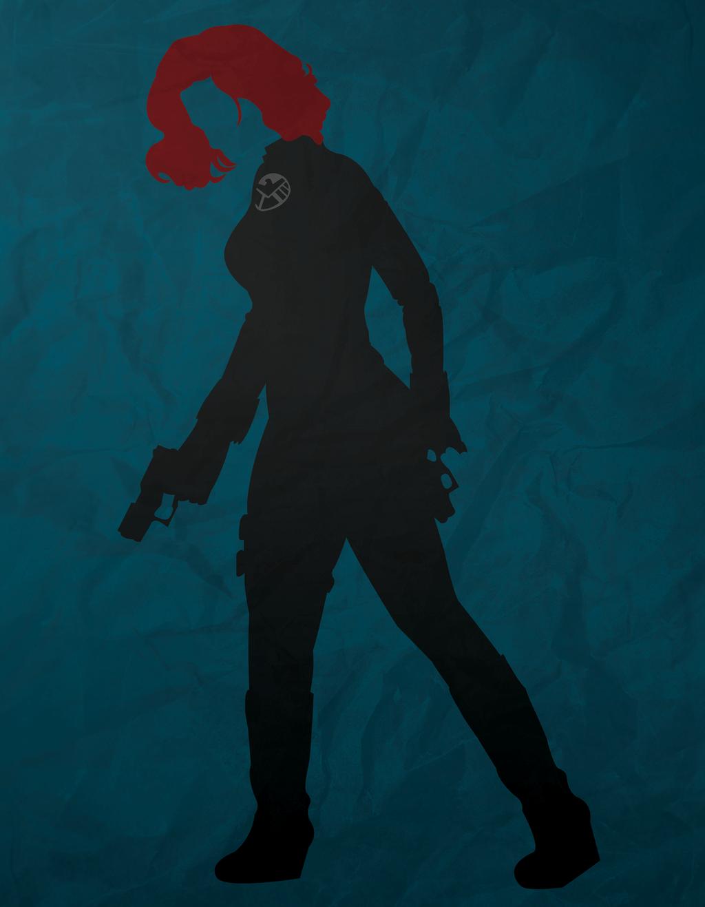 Black Widow Minimalism by AtomicKittenStudios on DeviantArt