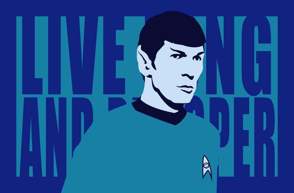 Spock: RIP Leonard Nimoy by AtomicKittenStudios