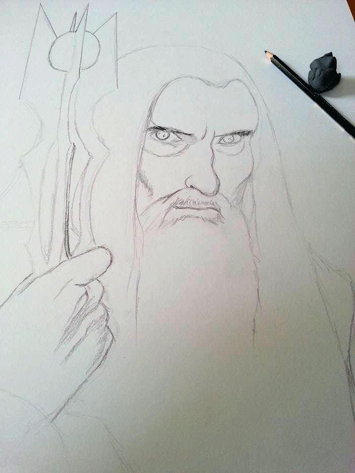 Saruman: WIP by AtomicKittenStudios