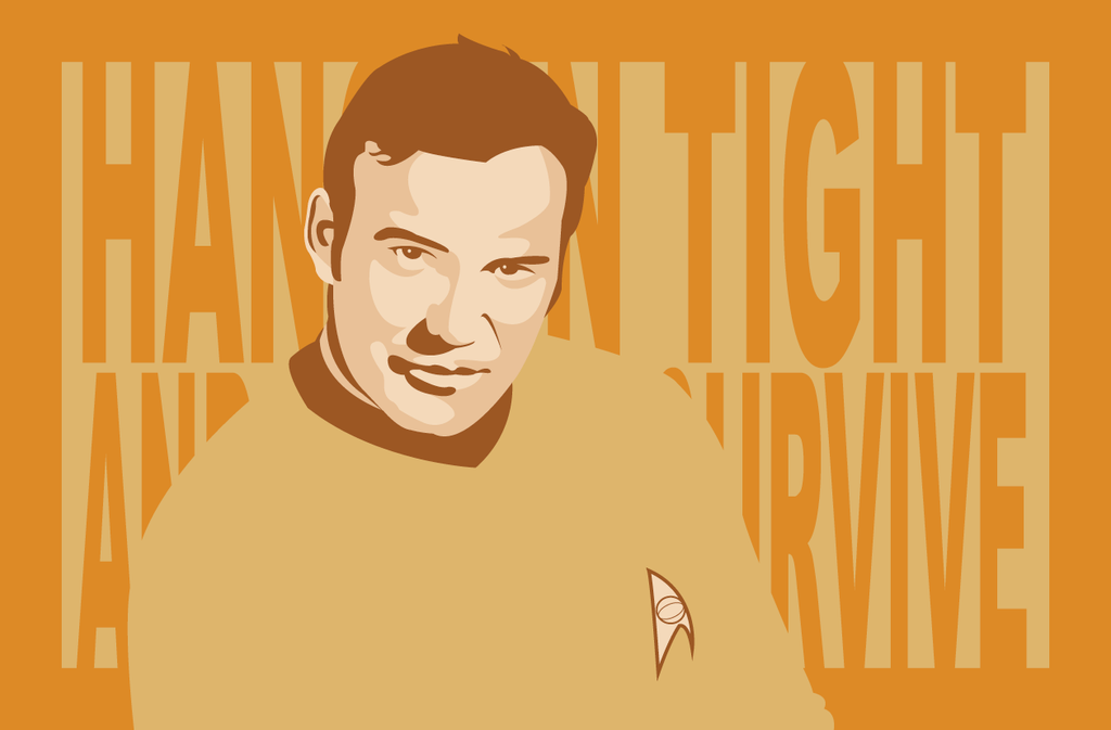 Captain Kirk by AtomicKittenStudios