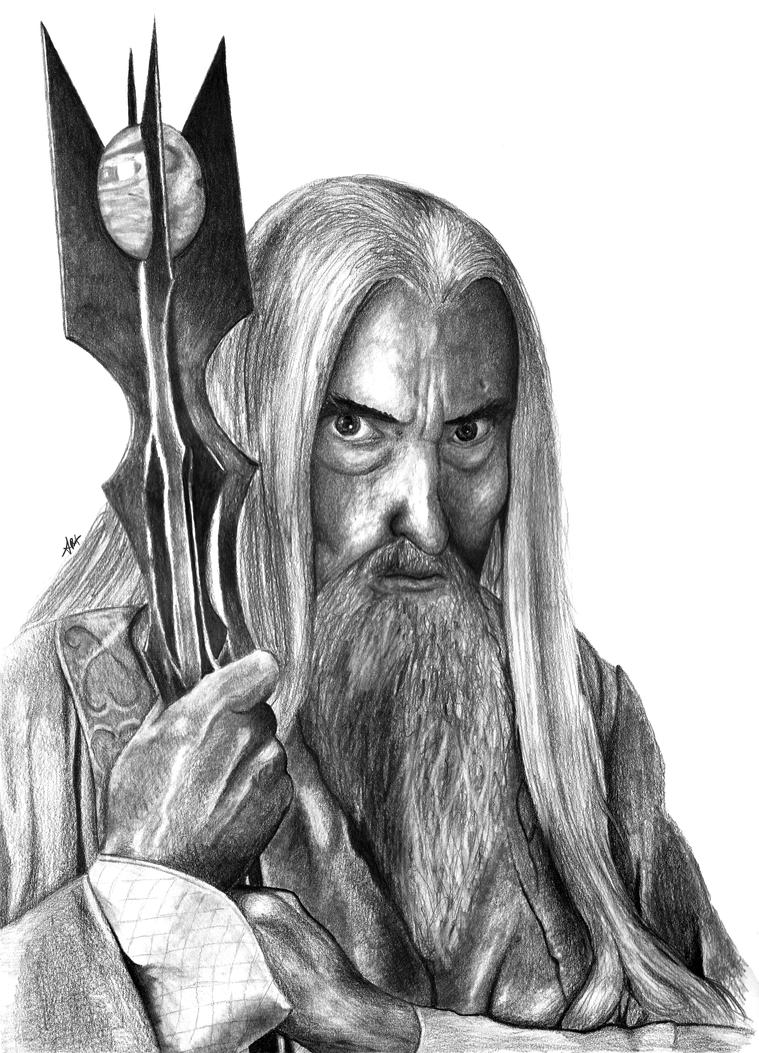 Saruman by AtomicKittenStudios