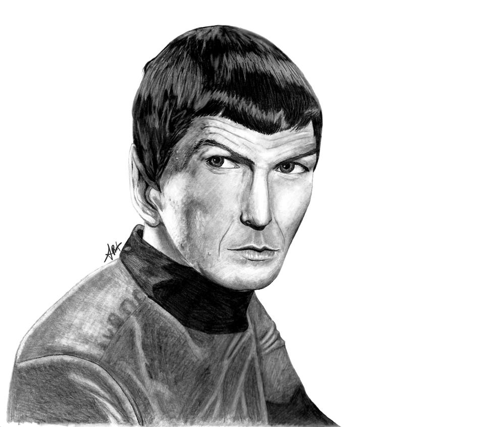 Spock by AtomicKittenStudios