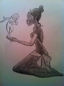 Princess and the Frog WIP