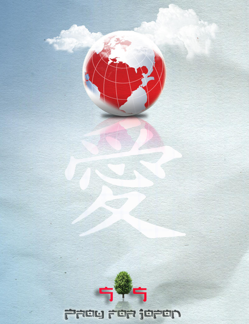 Pray for Japan 2011 by Statique77