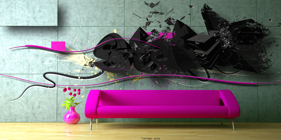 Modern room by Statique77