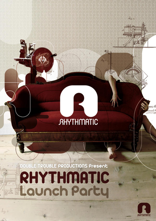 Rhythmatic Launch Flyer