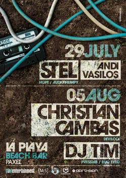 Stel Christian Cambas Poster