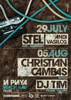 Stel Christian Cambas Poster by SeBDeSiGN
