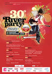River Party Poster
