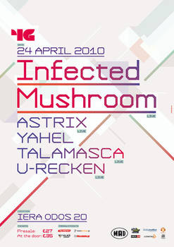 Infected Mushroom poster