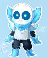 blue berry fan art by poisonfear