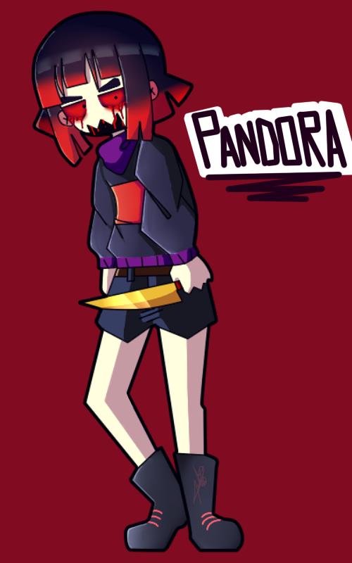 Pandora fan art by poisonfear