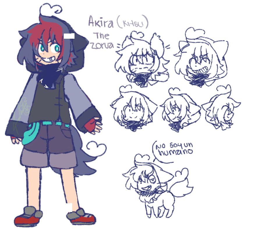 Akira The Zorua by poisonfear