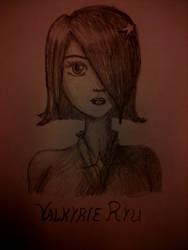 Valkyrie Ryu sketch by Valkyrie-Ryu