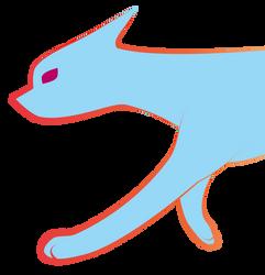 Rainbow Cat goes nyoom by Nafraat