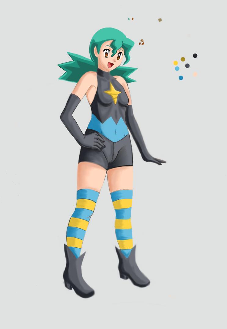 Marble Pokemon Dp2 Redraw By Ann47 by ann47