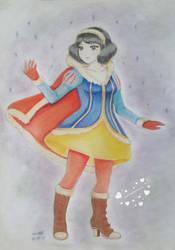 Winter Warrior Snow White by ann47 by ann47