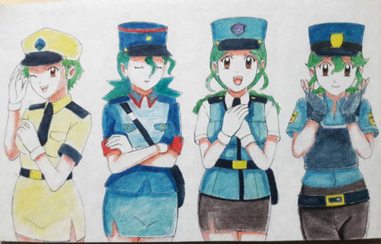Officers Jenny by ann47