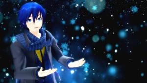[Kaito V3 Cover] Snow Fairy Story (Acoustic) by Aoizuho