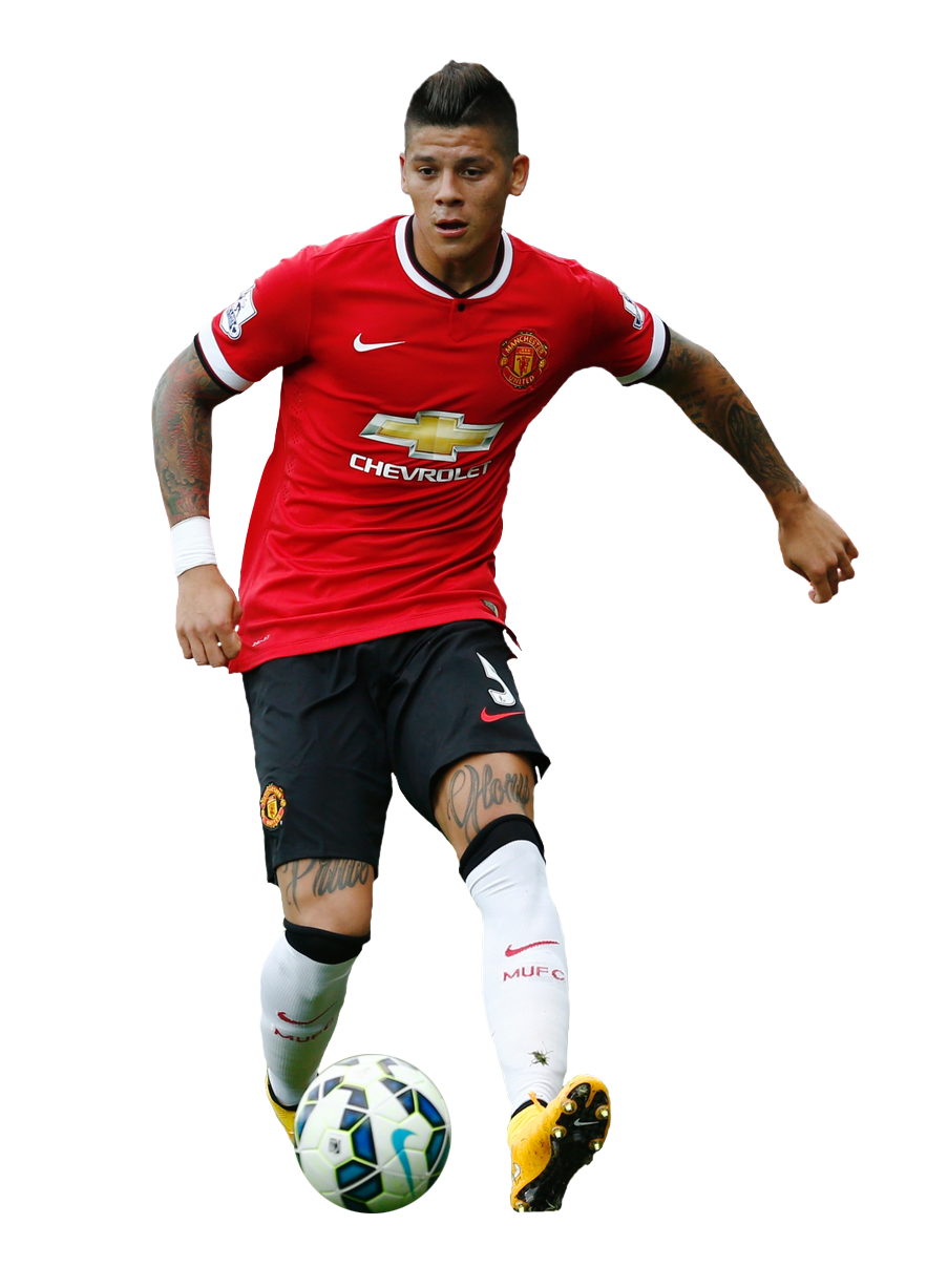 Marcos Rojo Manchester United 2014 15 By Hamidbeckham On Deviantart