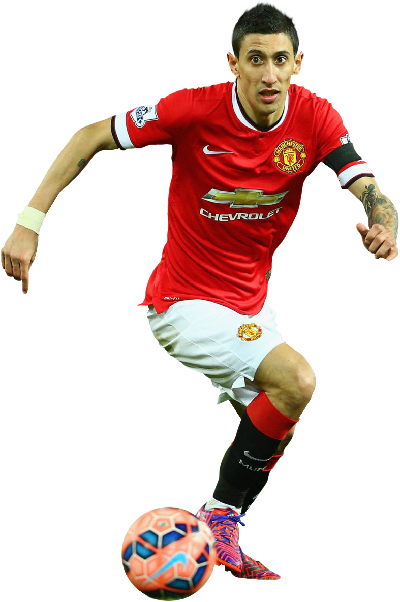Angel Di Maria Manchester United 2014 2015 By Hamidbeckham On Deviantart