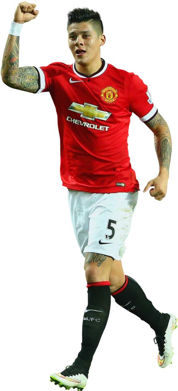 Marcos Rojo Manchester united 2014-15 by HamidBeckham on DeviantArt