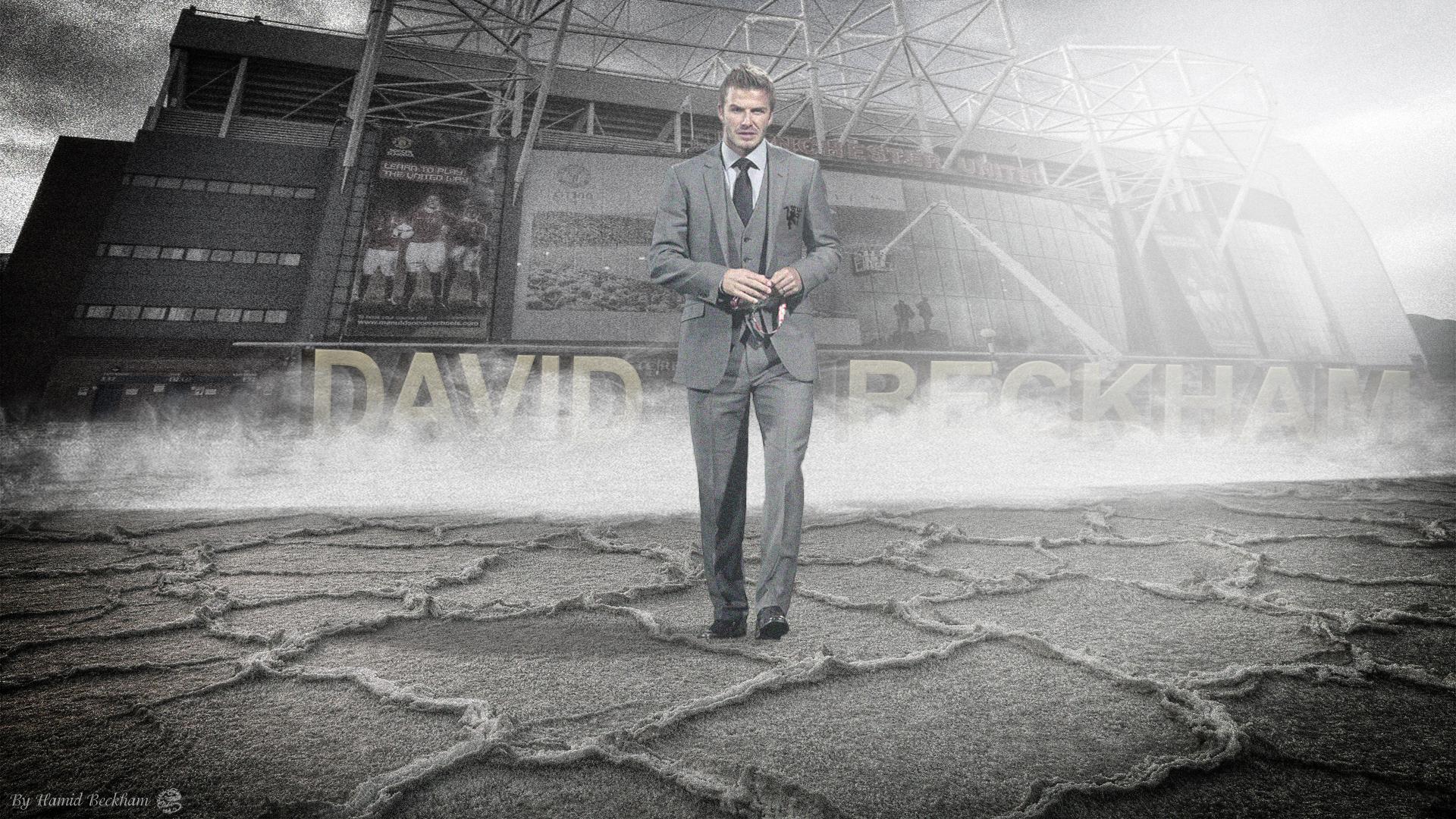 David beckham legend manchester united by hamidbeckham on - Manchester united david beckham wallpaper ...
