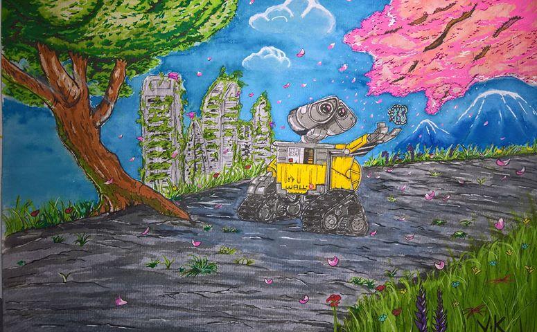 wall e by kergourlay