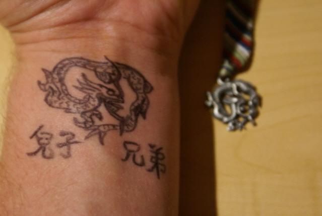 dragon wrist