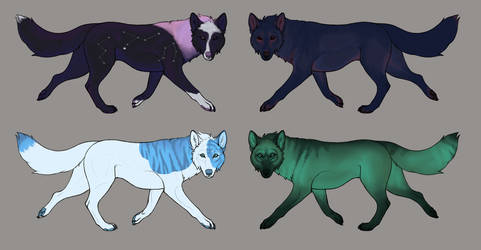 Simple $5 Canine Adopts [4/4 OPEN] [REDUCED]