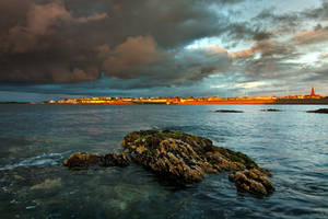 Bangor at sunset by onesh0t
