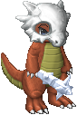 Wild Cubone appeared by Kjino
