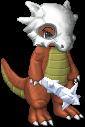 Wild Cubone appeared by Kjino