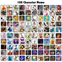 100 Favorite Characters of Mine by Michaelsar