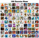 100 Favorite Characters of Mine