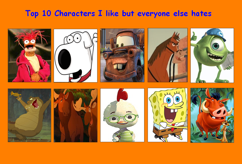 Anime Characters Everyone Hates : Top characters i like but everybody else hates by