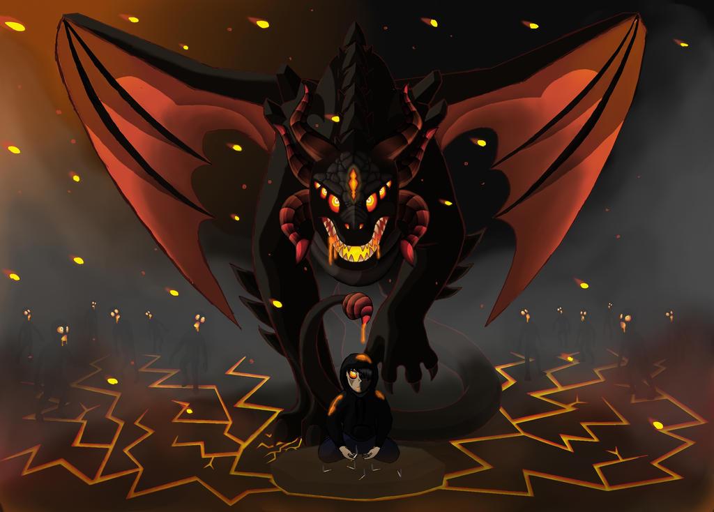 If Tobacco had a face... by Dragonhawk21