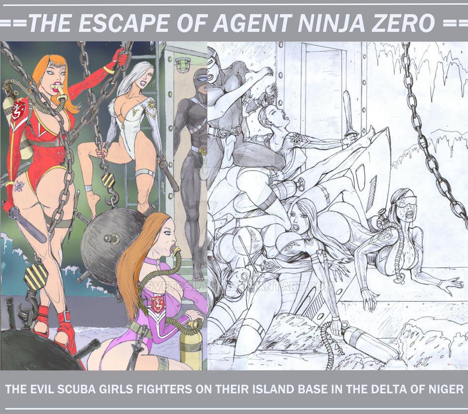 026 - The Escape of Agent NINJA Zero (35Eu) by Svetoslawa