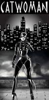 batman returns - catwoman DC FANART