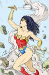 Wonder Woman By Robertmarzullo Colored By Me