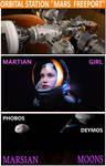 Martian Girl by Svetoslawa