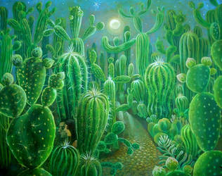 cactus forest by rodulfo