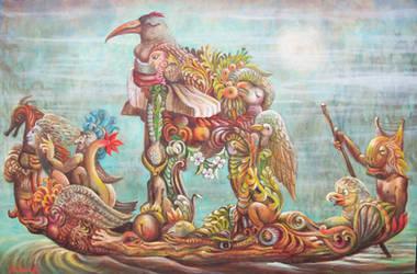 swamp gondola by rodulfo